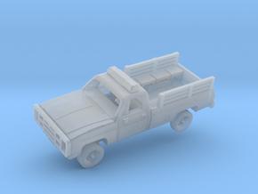 M1008 CUCV Police in Smooth Fine Detail Plastic: 1:144