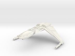 Bird Of Pray Class Cruiser Wings Down in White Strong & Flexible