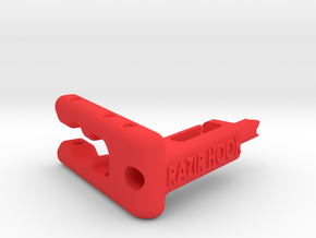 EyeBoltCoatHook_130130 in Red Processed Versatile Plastic