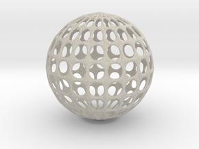 Test Model in Natural Sandstone