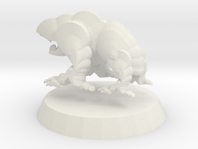 Goblin Hound 1 in White Natural Versatile Plastic