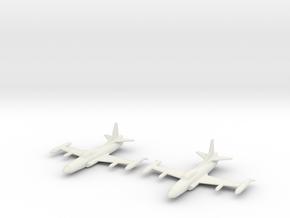 1/200 Lockheed F-94C Starfire (x2) in White Natural Versatile Plastic