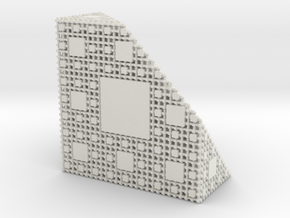 Menger Antisponge level 4 in White Natural Versatile Plastic