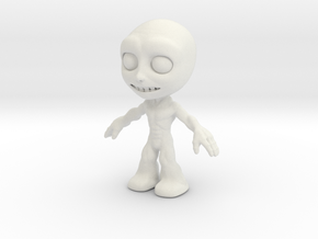 MTI Newfella-shapeway-first03 in White Strong & Flexible
