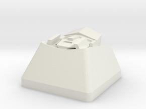 Pinder megatron cap | CHERRY MX in White Natural Versatile Plastic