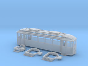 Tram Leipzig Typ24a Spur TT (1:120) in Frosted Ultra Detail