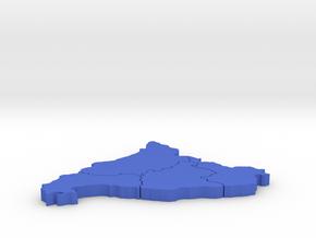 I3D CATALUÑA:Barcelona,Tarragona,Girona and Lleida in Blue Strong & Flexible Polished