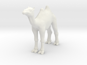 Camel in White Natural Versatile Plastic