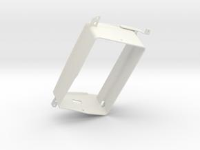 370Z Tablet Bezel in White Natural Versatile Plastic