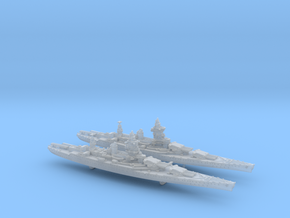 1/2400 MN BC Dunkerque[1940] + Strasbourg[1942] in Smooth Fine Detail Plastic
