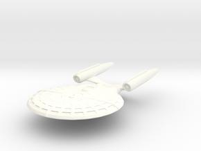 USS Liberty in White Processed Versatile Plastic