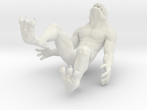 Krotegh Monster in White Natural Versatile Plastic