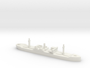 SS City of Flint (Hog Islander) 1/1800 in White Natural Versatile Plastic