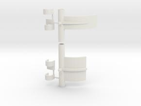 """Farkey-125 (1 1/4"""" models only!) in White Natural Versatile Plastic"""