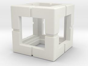Rokenbok Single Block in White Strong & Flexible