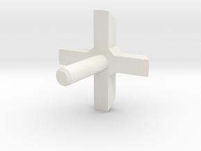 MBPI-A753-QUA2 in White Natural Versatile Plastic