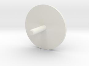 MBPI-A13-GEN in White Natural Versatile Plastic
