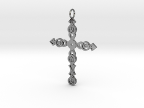 Ornate Cross in Premium Silver