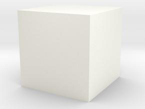 3 Parts Model in White Processed Versatile Plastic