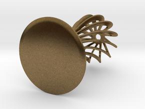 Espresso Coffee Tamper 53mm in Natural Bronze