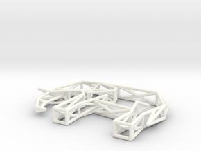 Elephant in White Processed Versatile Plastic