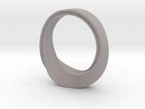 Mobius Strip Size 7 in Full Color Sandstone