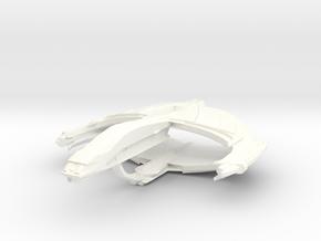 WarCondor Battleship in White Processed Versatile Plastic