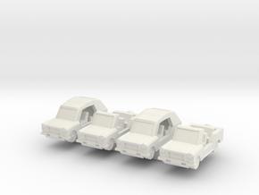 1/200 Trabant Kuebel in White Natural Versatile Plastic