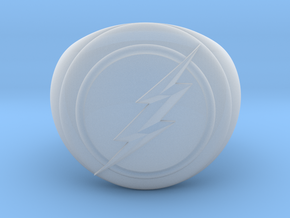 Flash Ring in Smooth Fine Detail Plastic