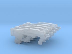 Gun 009a in Smooth Fine Detail Plastic