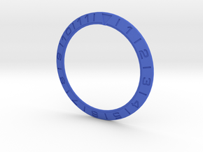 5 Omega Bezel New Fonts Microexted Font 140823 in Blue Processed Versatile Plastic