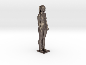 Maria BoulderBeta May 2014 in Polished Bronzed Silver Steel