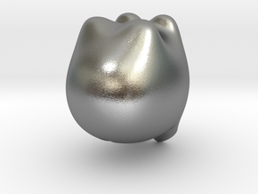 Piggybank in Raw Silver