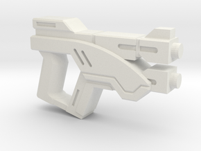 Hunter Pistol in White Natural Versatile Plastic