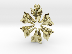 Pendant Of The Shapers in 18k Gold