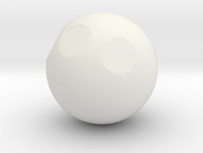Sphere1 (copy) in White Strong & Flexible