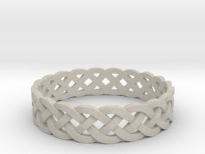 Rohkea Bold Celtic Knot Size 12 in Natural Sandstone