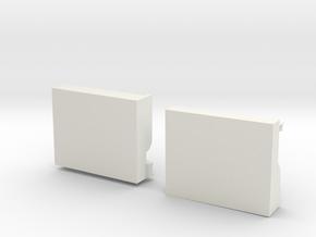 Cummins Engine Block Final(2) in White Natural Versatile Plastic