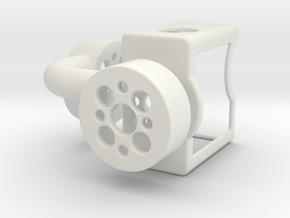 GoPro Gimbal in White Natural Versatile Plastic