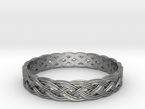 Hieno Delicate Celtic Knot in Natural Silver: 5 / 49