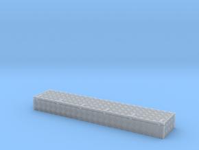 Dachkasten  39,5x8x4mm  Krähenfussblech-Schaniere in Smooth Fine Detail Plastic