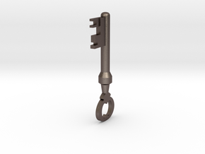 TF2 Mann Co. Supply Crate Key (Small) in Stainless Steel
