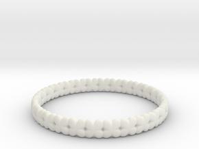 Clover Bracelet A in White Strong & Flexible