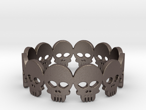 Skull Ring - Size 10 in Stainless Steel