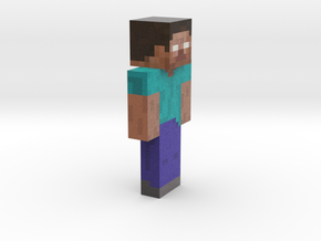 12cm | Herobrine in Full Color Sandstone