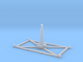 Stand Wide x1 3.0 in Smooth Fine Detail Plastic