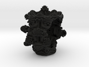 Mandelbulb Bracelet #01 in Black Strong & Flexible