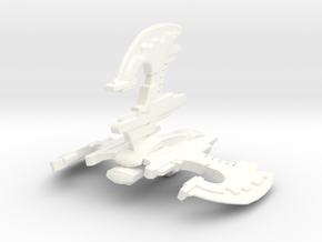 Xindi Insectoid Destroyer in White Processed Versatile Plastic