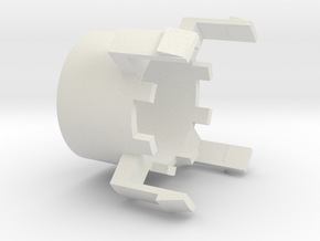 Stecker Schutzhülse kaadesign in White Natural Versatile Plastic