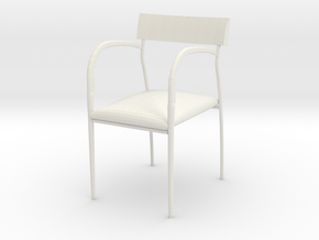 "Bernhardt Studio Chair 3.75"" tall in White Natural Versatile Plastic"